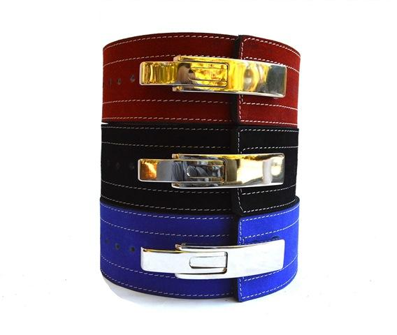 Quest Varsity 10mm Lever Belt - Blue or Red (BELT_LEVER10)