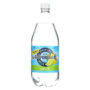 Naturals Adirondack Seltzer - Lemon Lime - Case Of 12 - 33.8 Fl Oz.