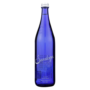 Saratoga Springs Water Natural Spring Water - Case Of 12 - 28 Fl Oz.