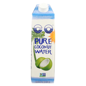 C2o Pure Coconut Water Pure Coconut Water - Original - Case Of 12 - 33.8 Fl Oz