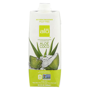 Alo Drink - Aloe Coco - Case Of 12 - 16.9 Fl Oz