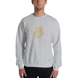 Unsuited King Poker Sweatshirt