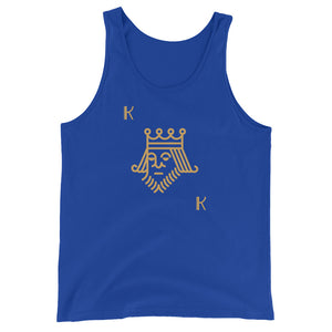 Unsuited King Poker Tank Top