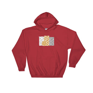 Poker Chip Stacks Hooded Sweatshirt (Gold Edition)