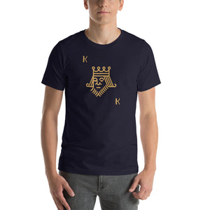 Unsuited King - Short-Sleeve Poker T-Shirt