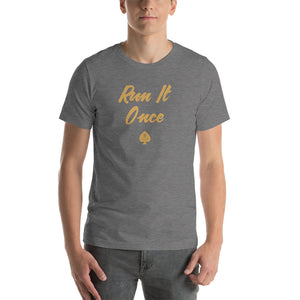 Run It Once - Short-Sleeve Poker T-Shirt