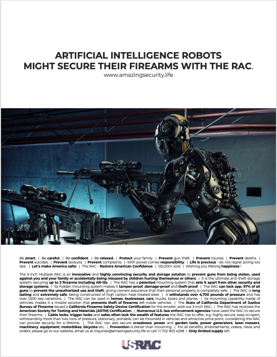 Amazing Security Group, Inc.    |    AI RAC Ad.