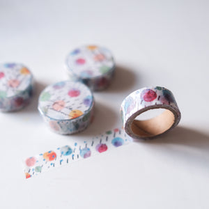 Pepperconarts x The Stationery Selection 'Life is like a rainbow' washi tape