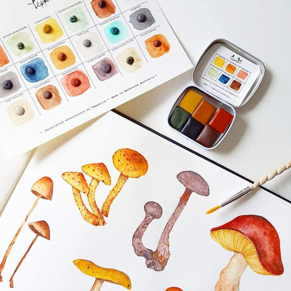 Mini Mushroom Set - Wildwood collection