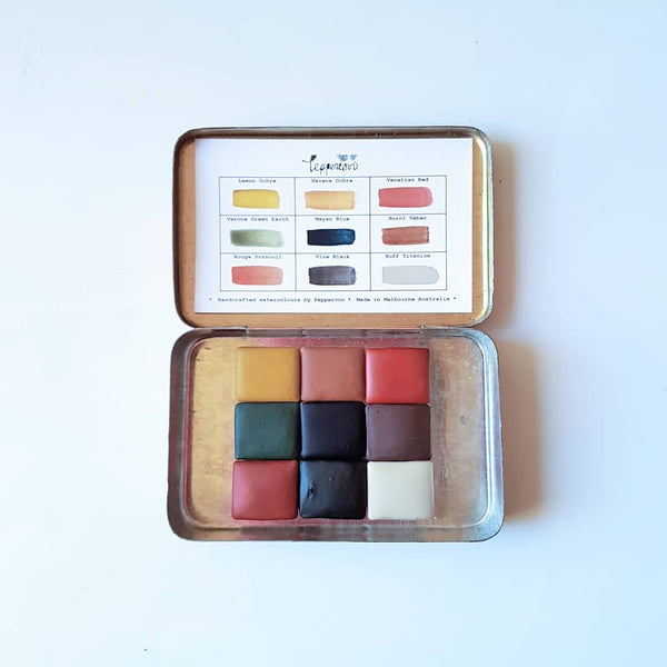 Vintage Palette Mushroom & Feathers Set - Wildwood Collection