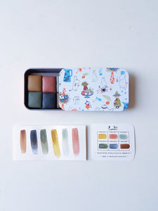 Matsu 松 まつ set (half pans ) - Special Edition with Moomin Tin