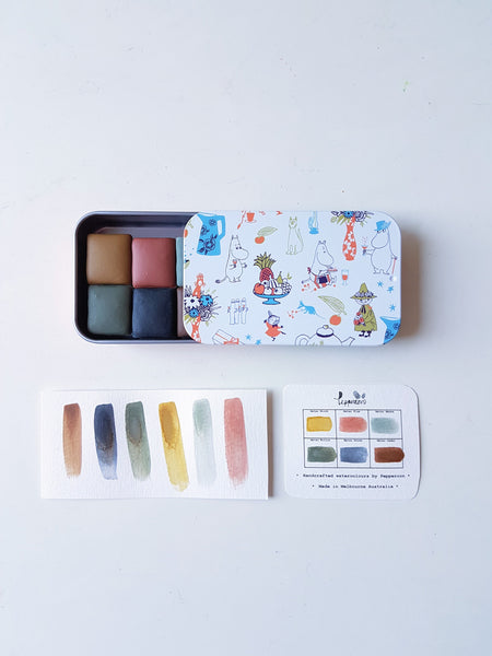 Matsu 松 まつ Set (half-pans ) - Special Edition with Moomin Tin
