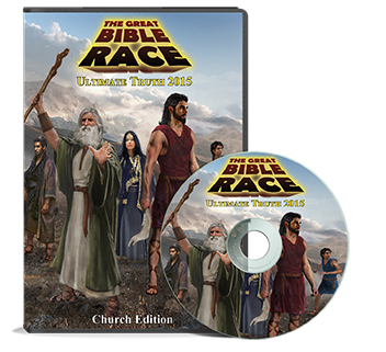 Great Bible Race Church Edition (DVD)
