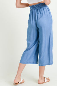 Tencel Paperbag Pants