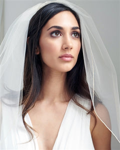 1 Layer - Simple Bridal Veil