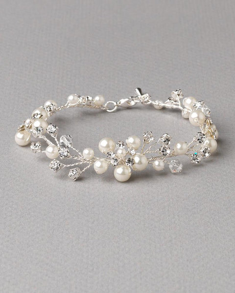 Beautiful Floral Vine Bracelet
