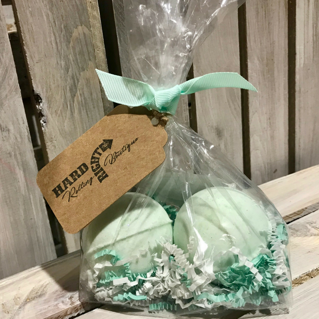 Bath Bombs | Lucky Girl -Tea Tree & Eucalyptus