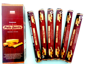 Incense Palo Santo 120 Sticks in a Six Pack.