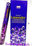 Lavender Incense Sticks Handmade 6 Pack X 20 = 120 Darshan Brand.