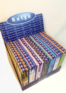 Satya Sai Baba Nag Champa 2018 Collection Display 84 Packs of 6 Aromas.