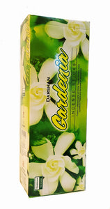 Gardenia Incense, 120 Sticks in a Six Pack, Hand Made in India.