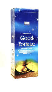 Good Fortune Incense Hand Rolled in India Darshan.