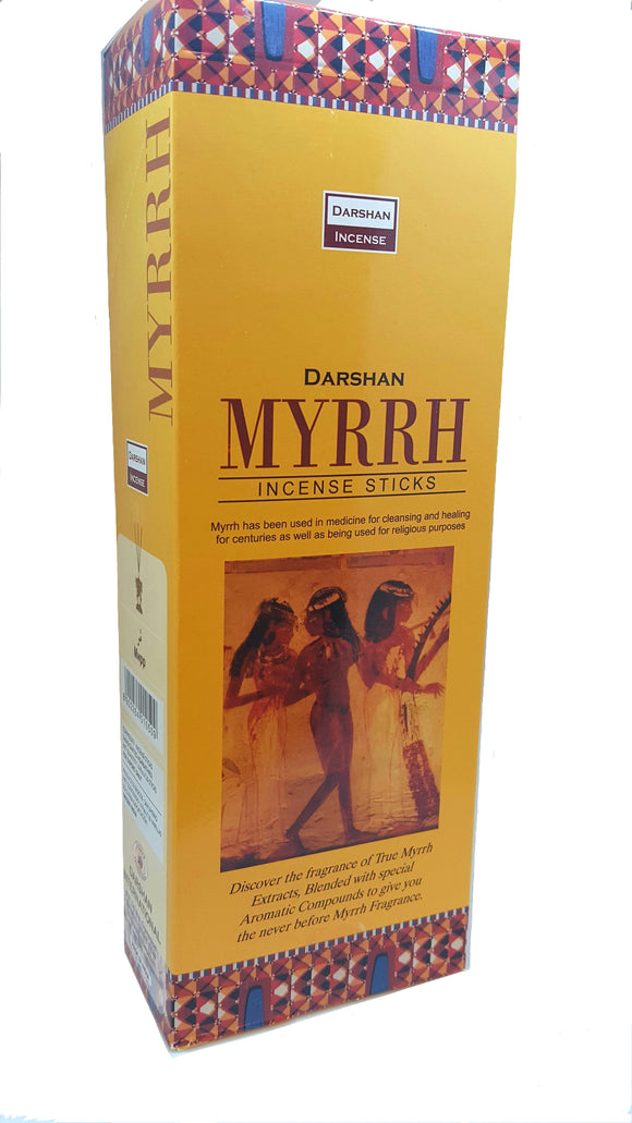 Myrrh Incense For Peace And Relaxation, Handmade Incense 120 Sticks