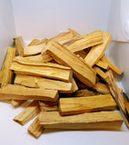 "Sacred Palo Santo Incense 4"" X 1"" -  1 Lb From Peru 40 Sticks Approx."