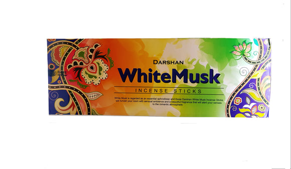 White Musk Incense Sticks Darshan
