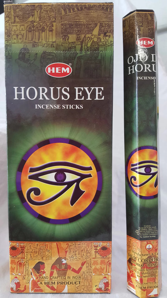 Horus Eye Incense 120 Sticks Six Pack.
