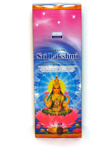 Lakshmi Incense Goddess Of Fortune, 120 Sticks Handmade In India.