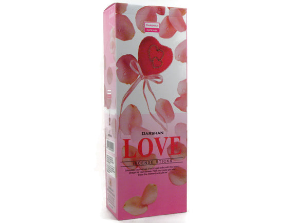 Valentine's Day Love Incense Six Pack Darshan
