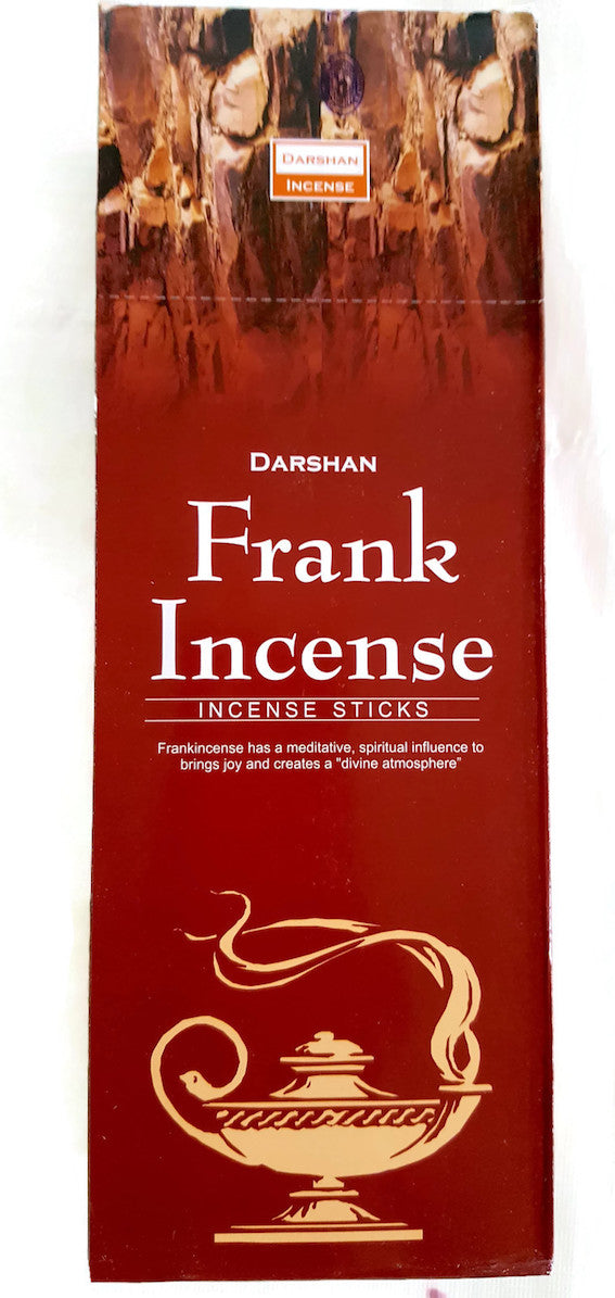 Frankincense 120 Sticks in a Six Pack, Hand Made in India