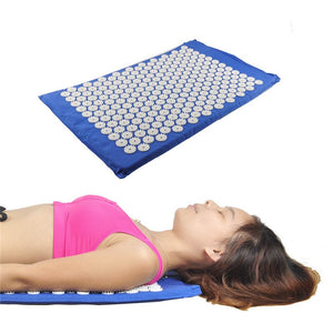 Relax Health Care Body care Cushion Acupressure Mat Relieve Stress Pain Acupuncture Spike Yoga Mat Foot care tools