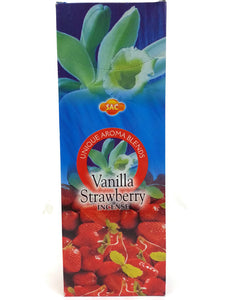 Handmade Vanilla Strawberry Incense 120 Sticks in a Six Pack. Assorted Aroma.