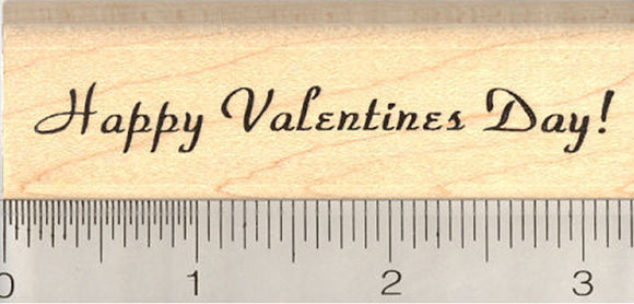 Happy Valentine's Day Rubber Stamp