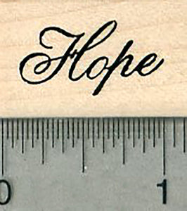 Hope Rubber Stamp, Blessings Series