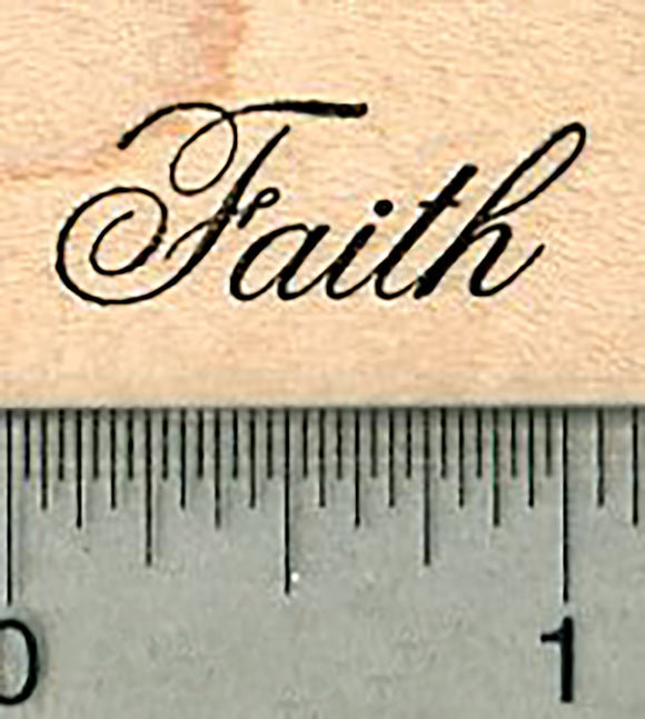 Faith Rubber Stamp, Blessings Series
