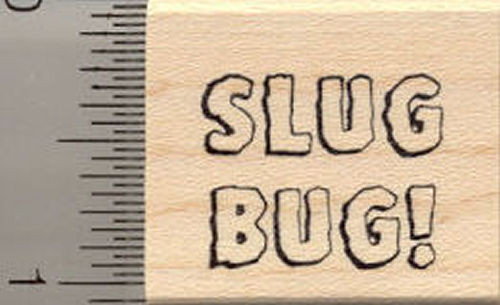 Slug Bug! Rubber Stamp
