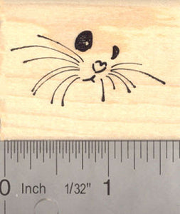 Cute Baby Animal Face Rubber Stamp