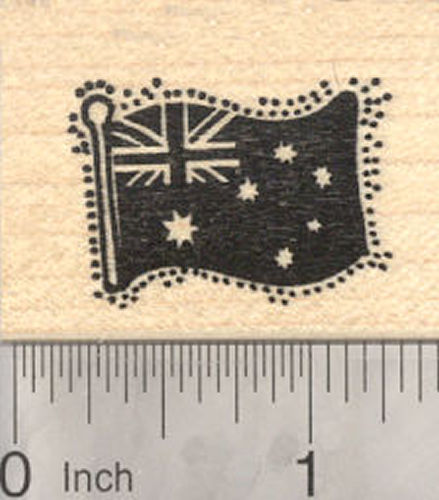 Australian National Flag Rubber Stamp, Flag of Australia