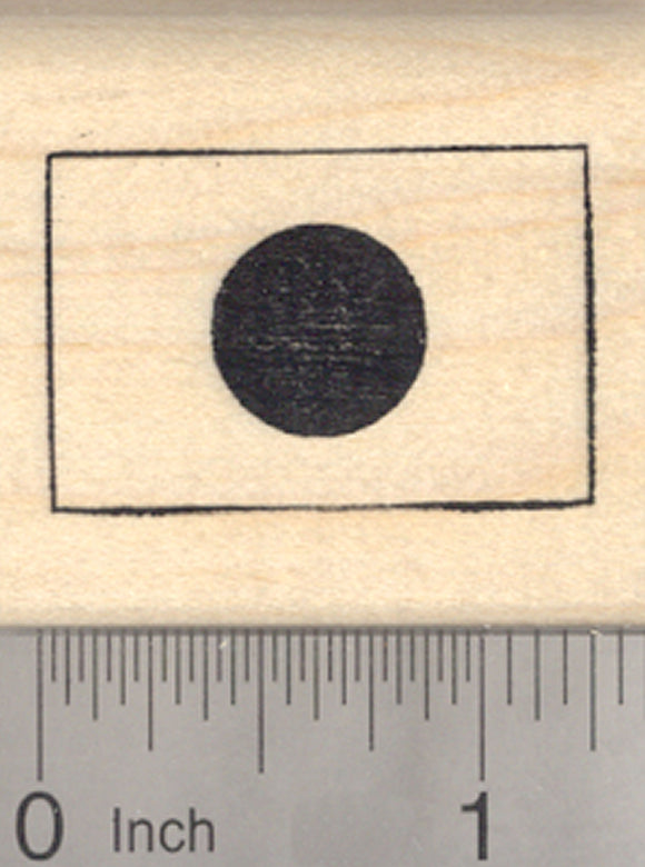 Flag of Japan Rubber Stamp, Nihon-koku