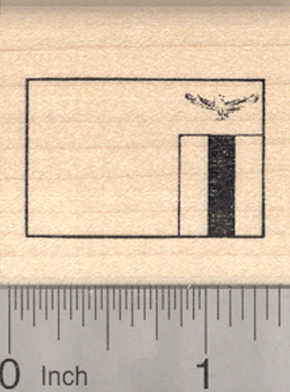 Flag of Zambia Rubber Stamp, Southern Africa