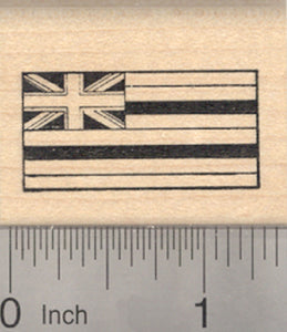 Flag of Hawaii Rubber Stamp, United States of America