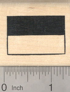 Flag of Indonesia Rubber Stamp, Southeast Asia, Oceania