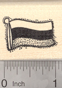 Flag of Russia Rubber Stamp, Russian Federation
