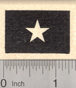 Flag of Vietnam Rubber Stamp (The official flag of Vietnam)