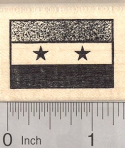 Flag of Syria Rubber Stamp, United Arab Republic, Assad Government