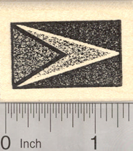 Flag of Guyana Rubber Stamp, The Golden Arrow