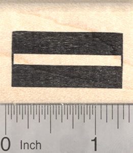 Flag of Latvia Rubber Stamp